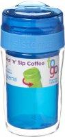 Термокружка для кофе Sistema To-Go Twist 'n' Sip Coffee, 315 мл Blue (21477)