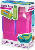 Контейнер и бутылка для воды Sistema