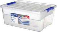 Универсальный контейнер с лотком Sistema With Storage Tray, 7,9 л White (70078)