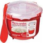 Рисоварка Sistema Microwave Rise Steamer, 2,6 л Red (1110)