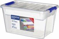 Универсальный контейнер с лотком Sistema Storage, 3,5 л White (70035)
