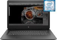 "Игровой ноутбук HP 17-ab412ur (4JS50EA) (Intel Core i7-8750H 2.2GHz/17.3""/1920х1080/12GB/1TB+128GB SSD/NVIDIA GeForce GTX 1050 Ti/DVD-RW/Wi-Fi/Bluetooth/Win 10 Homeх64)"