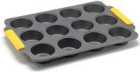 Форма для маффинов Zanussi Amalfi, 12 ячеек Black (ZAC35413CF)