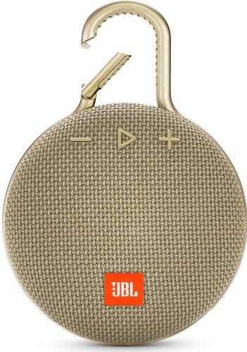 Купить Портативная акустика JBL, CLIP 3 Desert Sand (JBLCLIP3SAND)