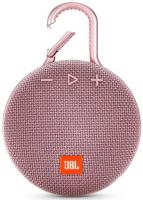 Портативная акустика JBL CLIP 3 Pink (JBLCLIP3PINK)