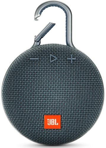 Купить Портативная акустика JBL, CLIP 3 Blue (JBLCLIP3BLU)