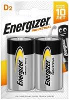 Батарейки Energizer Industrial D-LR20, 2 шт. (E301425000)