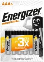 Батарейки Energizer Industrial AAA-LR03, 6 шт.