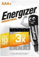 Батарейки Energizer Industrial AAA-LR03, 4 шт. (E301424600)