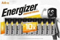 Батарейки Energizer Industrial AA-LR6, 10 шт. (E301424500)
