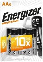 Батарейки Energizer Industrial AA-LR6, 6 шт. (E301424400)