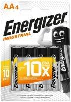 Батарейки Energizer Industrial AA-LR6, 4 шт. (E301424300)