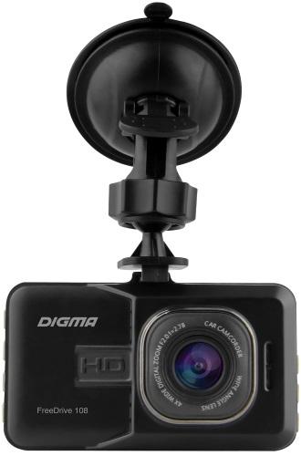 Купить Автомобильный видеорегистратор Digma, FreeDrive 108 (FD108S)