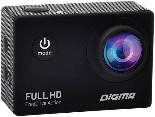 Купить Автомобильный видеорегистратор Digma, FreeDrive Action Full HD