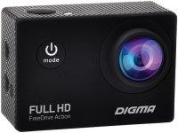Автомобильный видеорегистратор Digma FreeDrive Action Full HD