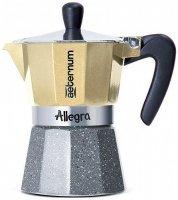 Кофеварка Bialetti Aeternum Allegra Petra Platinum, 6 кружек (5683)