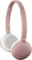 Беспроводные наушники с микрофоном JVC Flats Wireless Pink (HA-S20BT-P-E) фото