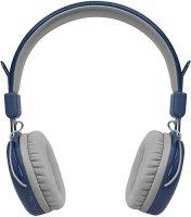 Беспроводные наушники с микрофоном Rombica MySound BH-03 2C Blue (BH-00032)