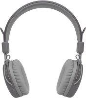 Беспроводные наушники с микрофоном Rombica MySound BH-03 1C Gray (BH-00031)