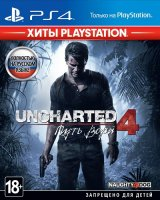 Игра для PS4 Sony Uncharted 4: Путь вора (Хиты PlayStation)