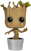 Фигурка Funko POP! Bobble: Guardians O/T Galaxy: Dancing Groot (5104) funko pop bobble фигурка guardians of the galaxy 2 groot