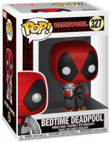 FUNKO POP! BOBBLE: MARVEL: DEADPOOL PLAYTIME: BEDTIME DEADPOOL (31118)