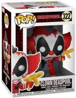 Фигурка Funko POP! Bobble: Marvel: Deadpool Playtime: Clown Deadpool (31120)