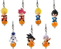 Фигурка BANDAI Dbz Dragon Ball Strap 4,5 см., 7 шт.