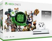 Игровая приставка Microsoft Xbox One S 1TB + 3 месяца Game Pass + 3 месяца Live Gold