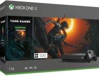Игровая приставка Microsoft Xbox One X 1Tb + Tomb Raider