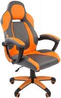 Игровое кресло Chairman Game 20 Gray/Orange