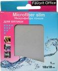 Салфетка из микрофибры для оптики Favorit Office Microfiber Slim, 1 шт. (F920021)
