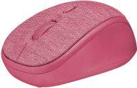 Мышь Trust Yvi Fabric Pink