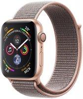 Умные часы Apple Watch S4 Sport 44mm Gold Aluminum Case with Pink Sand Sport Loop (MU6G2RU/A)