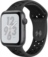 Умные часы Apple Watch S4 Nike+ 40mm Space Gray Aluminum Case with Anthracite/Black Nike Sport Band (MU6J2RU/A)