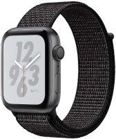 Умные часы Apple Watch S4 Nike+ 40mm Space Gray Aluminum Case with Black Nike Sport Loop (MU7G2RU/A)