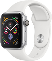 Apple watch sport with white band