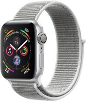 Умные часы Apple Watch S4 Sport 40mm Silver Aluminum Case with Seashell Sport Loop (MU652RU/A)