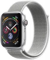 Умные часы Apple Watch S4 Sport 44mm Silver Aluminum Case with Seashell Sport Loop (MU6C2RU/A)