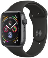 Умные часы Apple Watch S4 Sport 44mm Space Gray Aluminum Case with Black Sport Band (MU6D2RU/A)