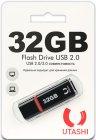 USB-флешка Utashi Flash Drive 32GB Haya Black (UT32GBHYB)