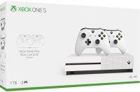 Игровая приставка Microsoft Xbox One S 1TB + 2 геймпада (234-00608)