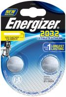 Купить Батарейки Energizer, Ultimate Lithium CR2032 BP2, 2 шт. (E301319300)
