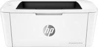 принтер лазерный hp laserjet pro m15w лазерный цвет белый [w2g51a] Лазерный принтер HP LaserJet Pro M15w