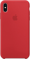 Чехол Apple Silicone Case для iPhone Xs Max (PRODUCT)RED (MRWH2ZM/A) фото