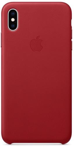 Купить Чехол Apple, Leather Case для iPhone Xs Max (PRODUCT)RED...