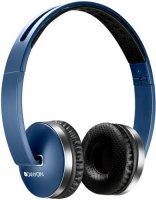 Беспроводные наушники с микрофоном Canyon CNS-CBTHS2 Blue
