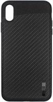 Чехол InterStep Uniqio для iPhone Xs Max Black (HUN-IPH6518K-NP1101O-K100)