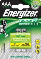 Аккумуляторы Energizer Power Plus AAA, 2 шт (E300626500)