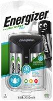 Зарядное устройство Energizer Pro Charger + 4xAA, 2000mAh (E300696601)